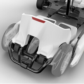Segway GoKart Kit Enfant, white/black